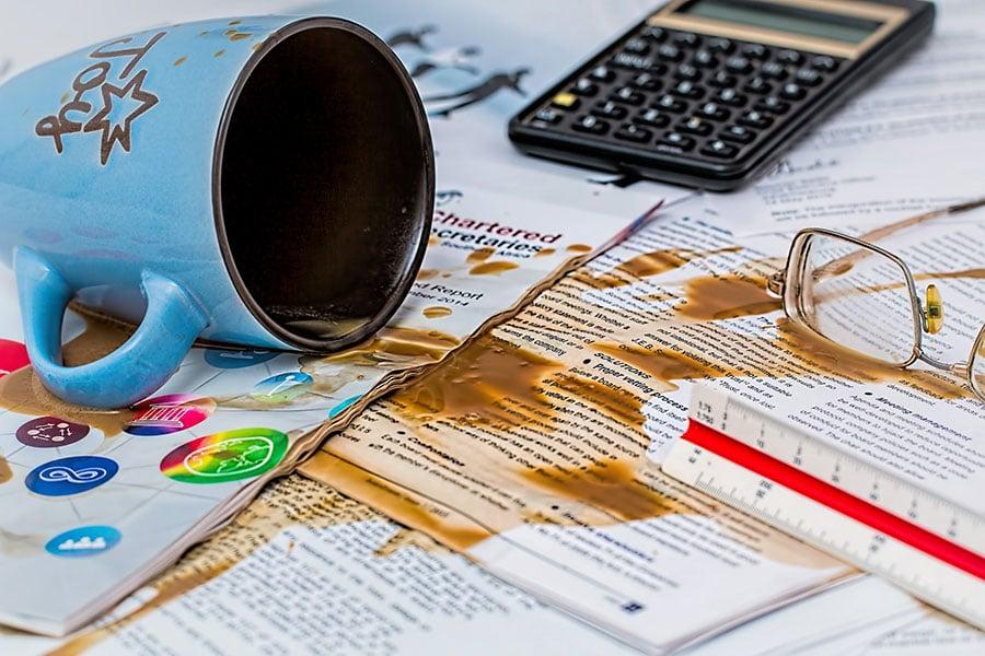 4 formas de resolver erros no trabalho